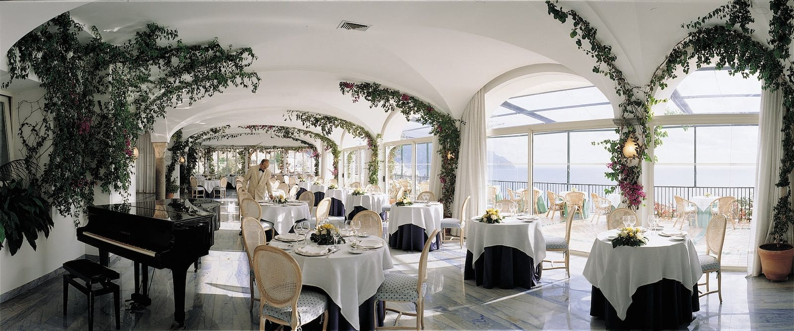 A'la Carte Restaurant at Hotel Santa Caterina, Amalfi Coast, Italy