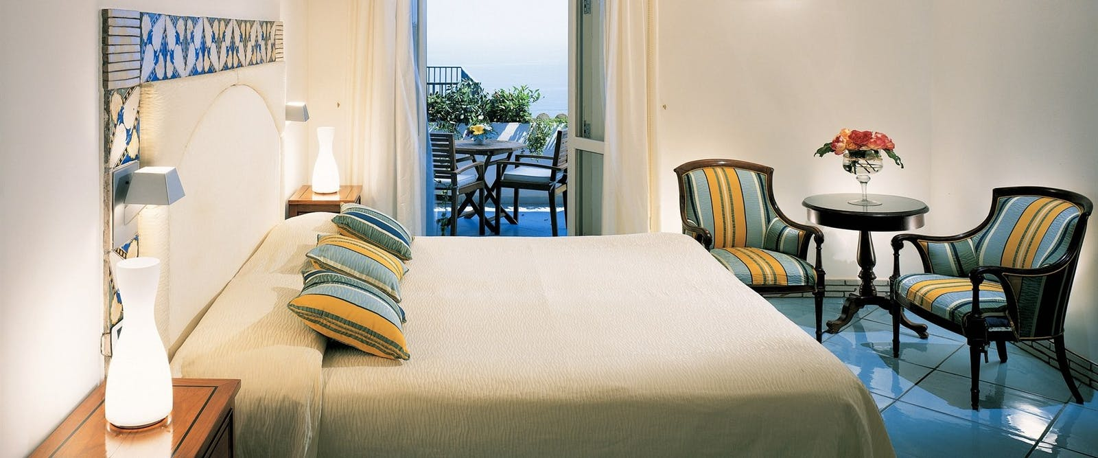 Superior Double Room at Hotel Santa Caterina, Amalfi Coast, Italy