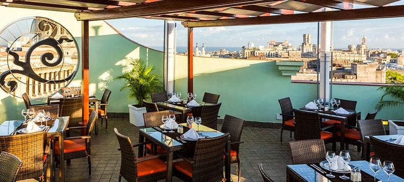 Restaurante Mirador at Hotel Saratoga, Cuba