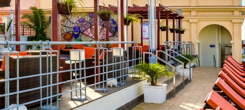 The Solarium at Hotel Saratoga, Cuba