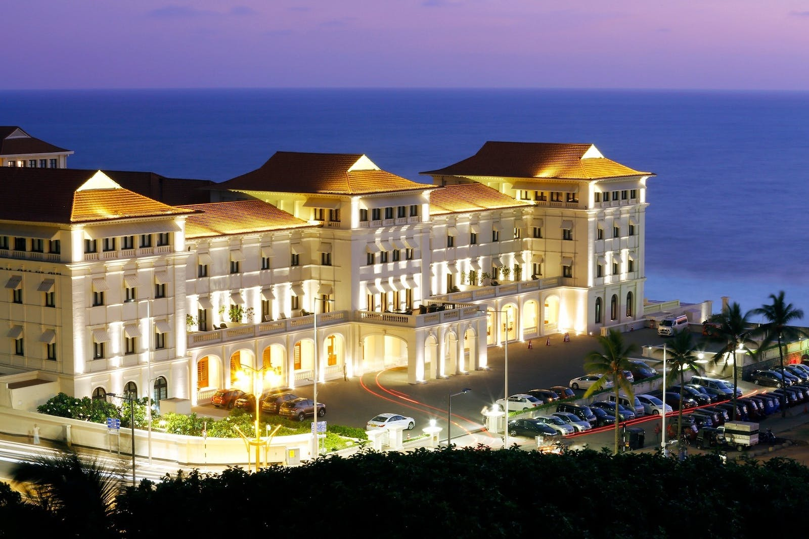 Exterior Hotel View, Galle Face Hotel, Colombo, Sri Lanka