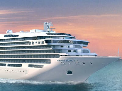 New levels of luxury aboard the Seabourn Encore...