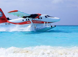 New seaplane transfers at Hideaway Beach Resort