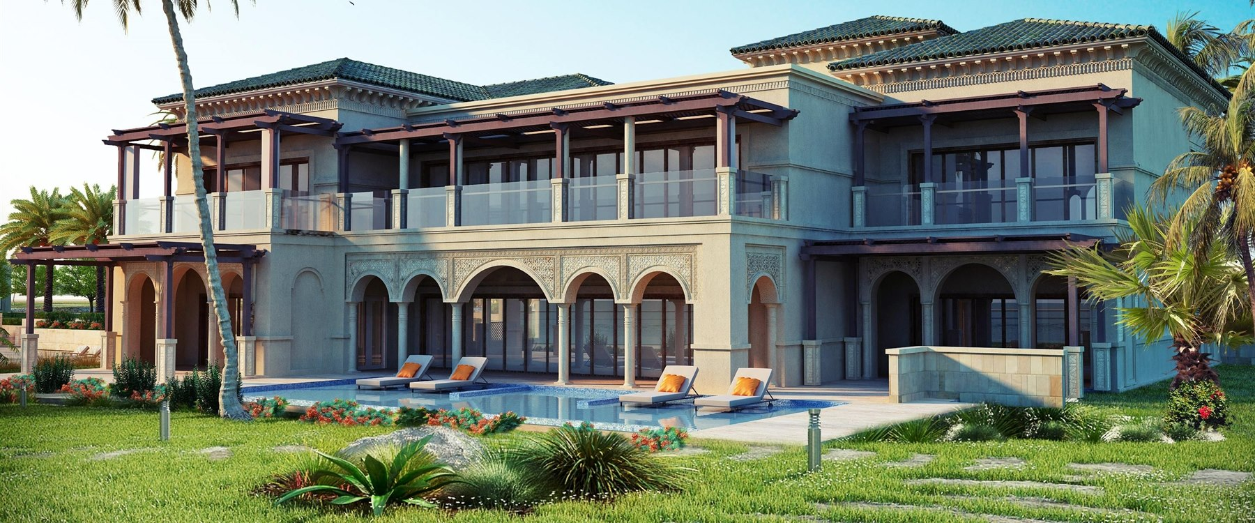 Three/Four Bedroom Villa with Pool at One&Only Seef