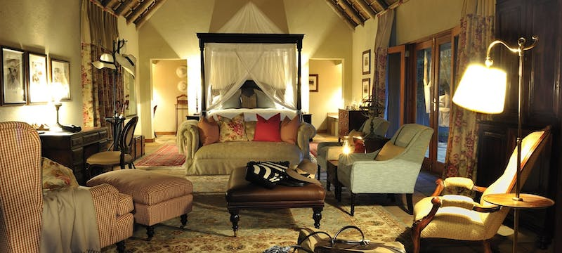 Ivory suite at Sabi Sabi Selati Camp, South Africa
