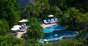 Spa pool area at Rosewood Little Dix Bay, British Virgin Islands