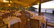 Restaurant overlooking the Caribbean Sea at Galley Bay Resort & Spa, Antigua