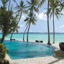 Endheri Pool at Shangri-La's Villingili Resort & Spa, Maldives