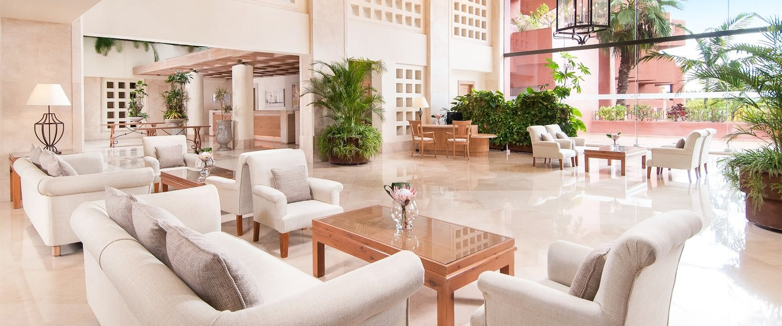 Lobby at Sheraton La Caleta Resort, Tenerife