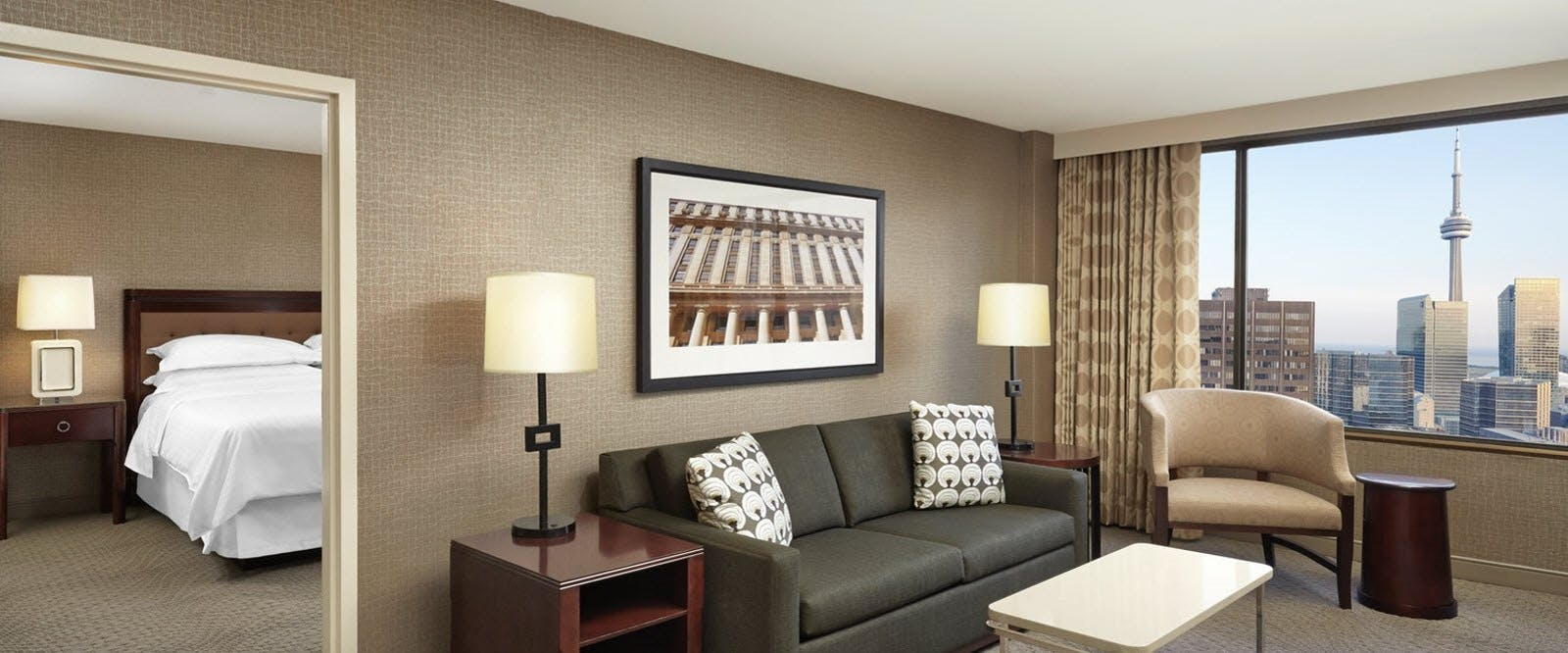 Club Self Contained Suite At Sheraton Centre Toronto Hotel