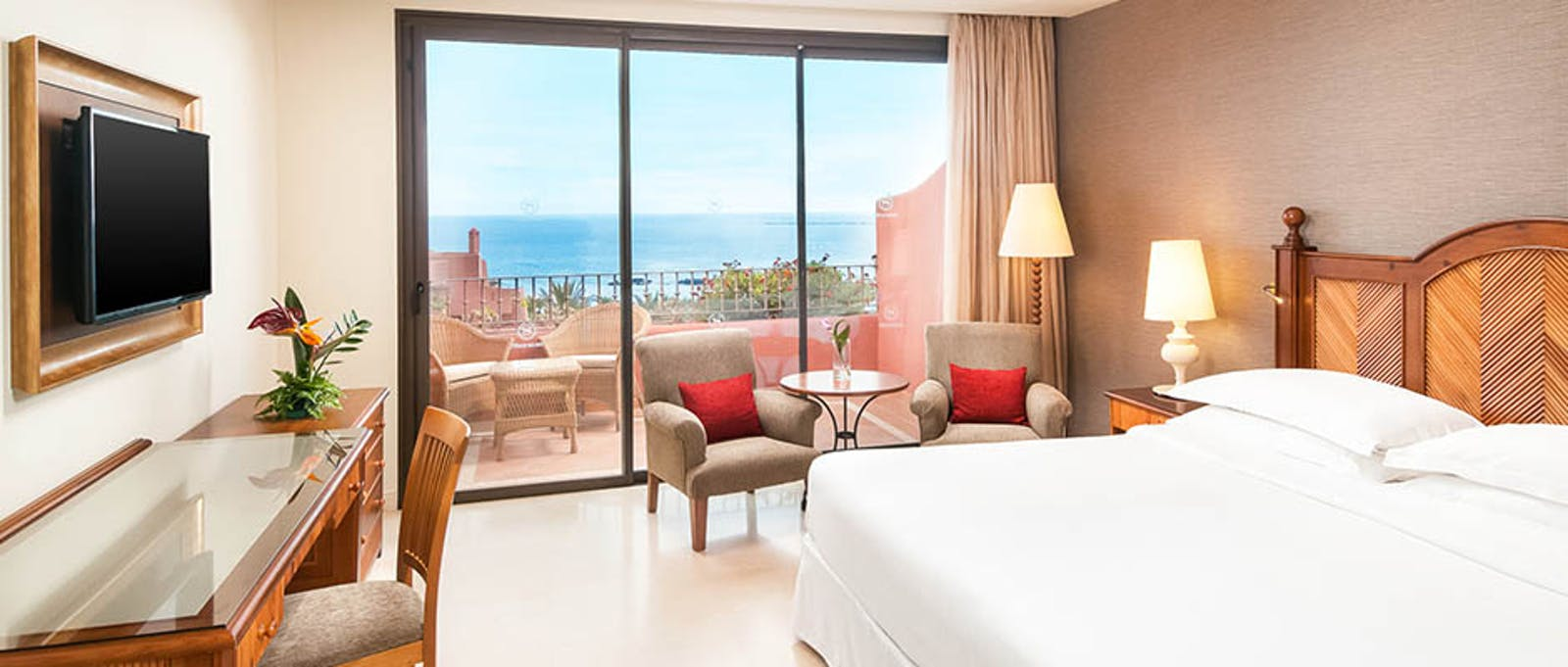 Double Bedroom at Sheraton La Caleta Resort, Tenerife