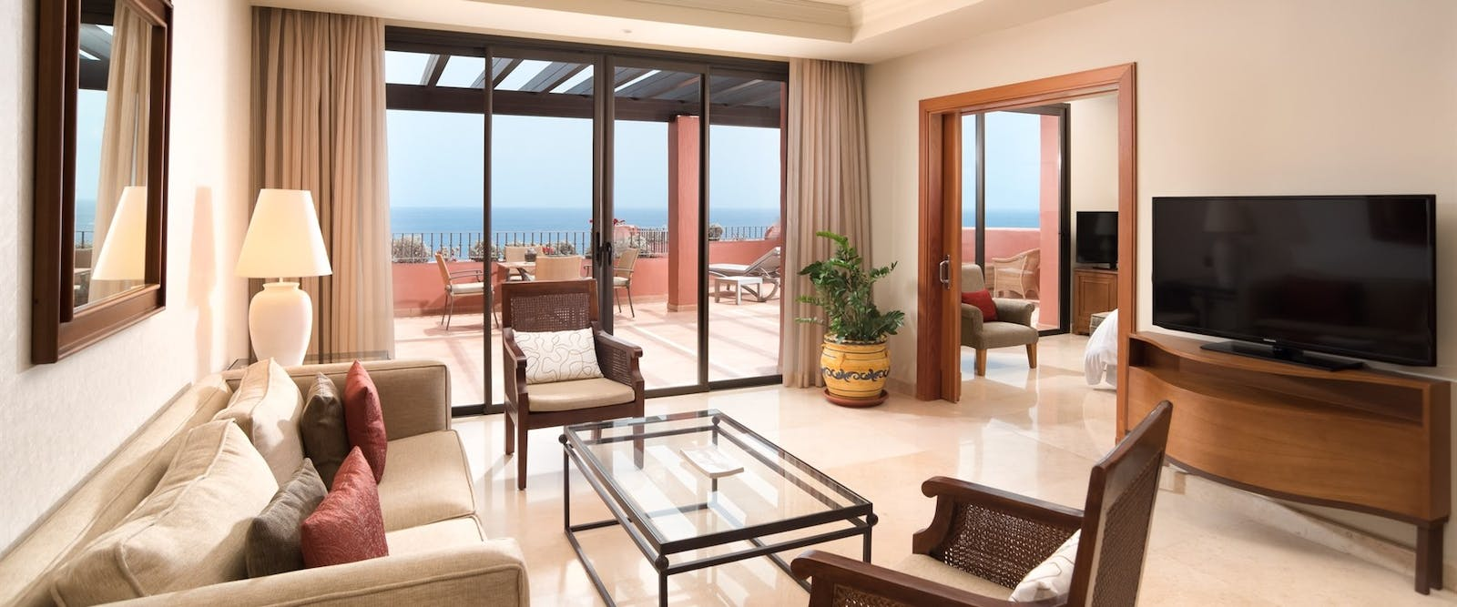 Suite Living Room at Sheraton La Caleta Resort, Tenerife