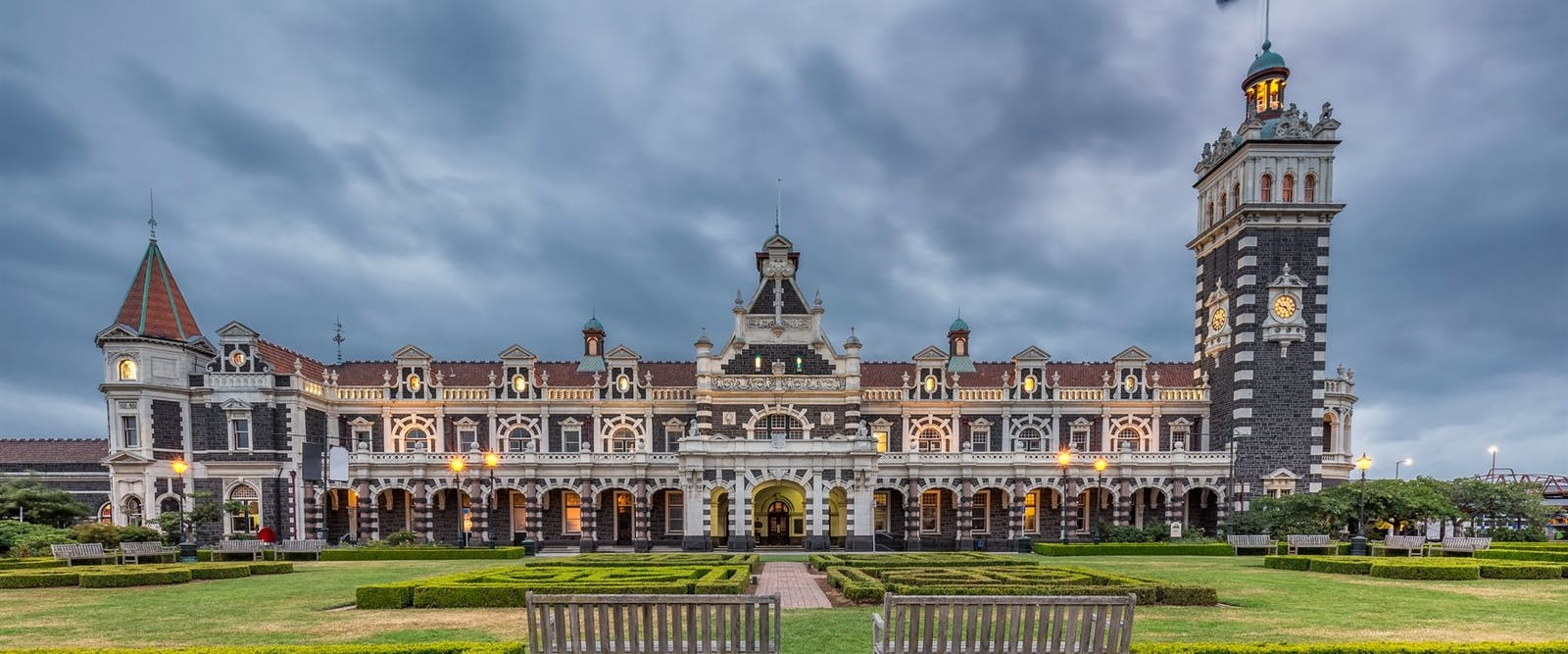 dunedin historic railway station