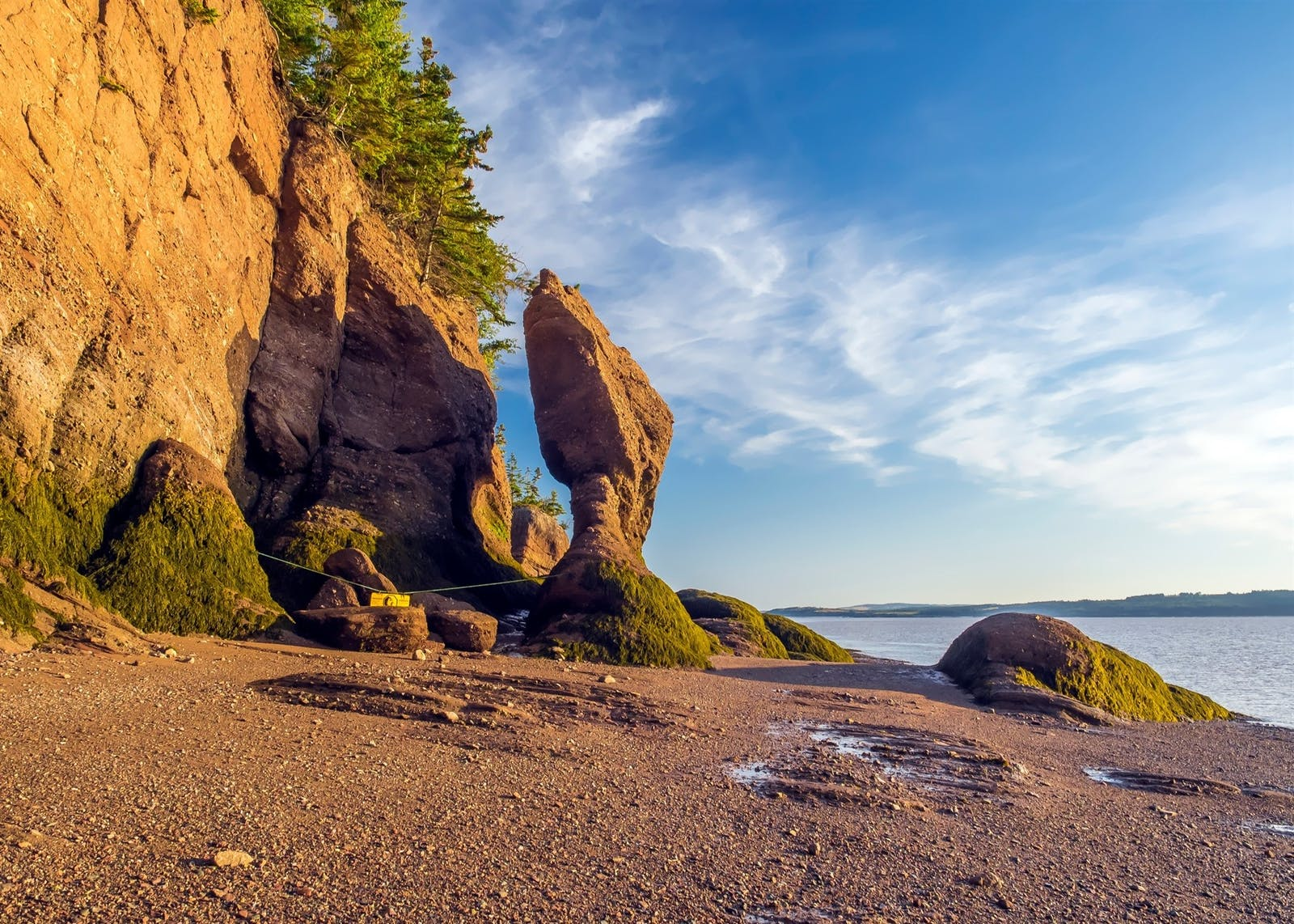hopewell rocks park in hopewell cape new brunswick