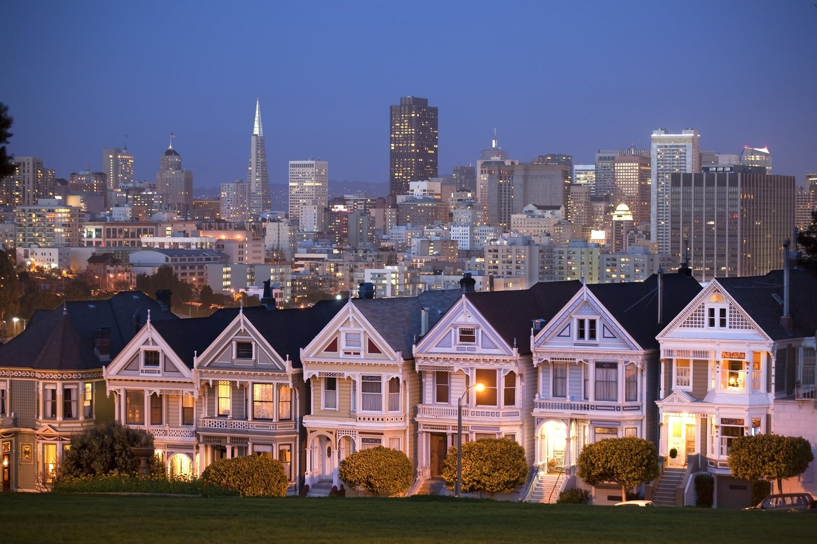 painted ladies victorian houses san francisco