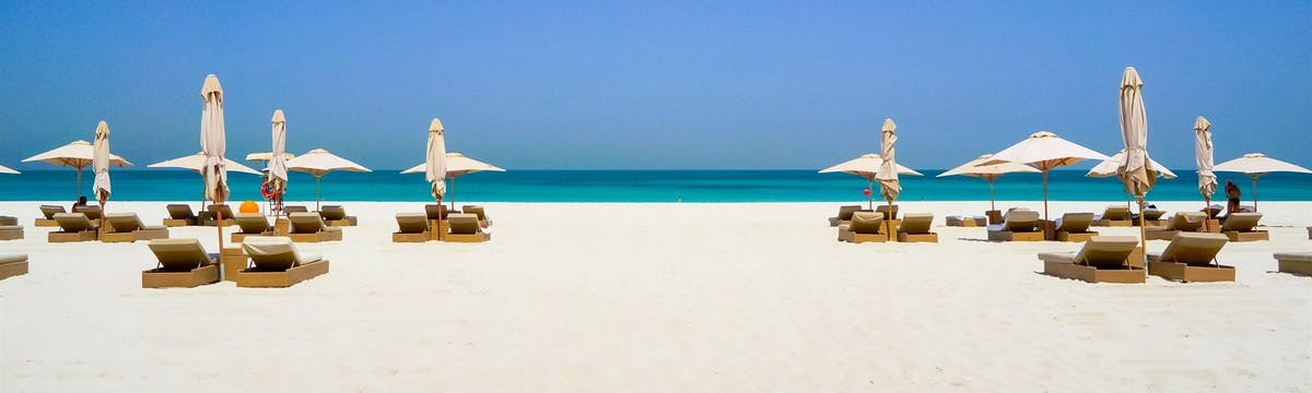 The Best Beach in Abu Dhabi!