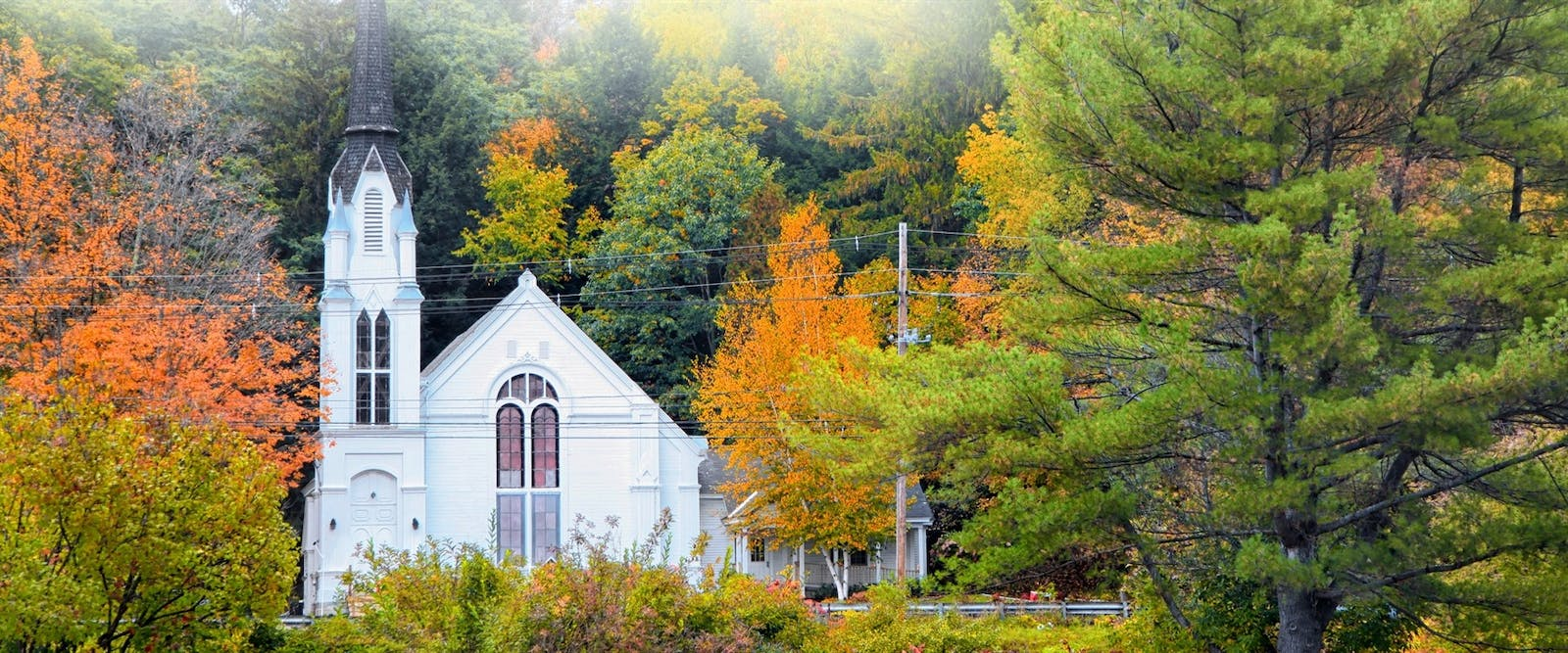 church near woodstock vermont