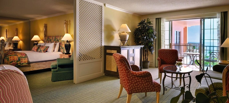 Signature sea view suite at Fairmont Southampton, Bermuda