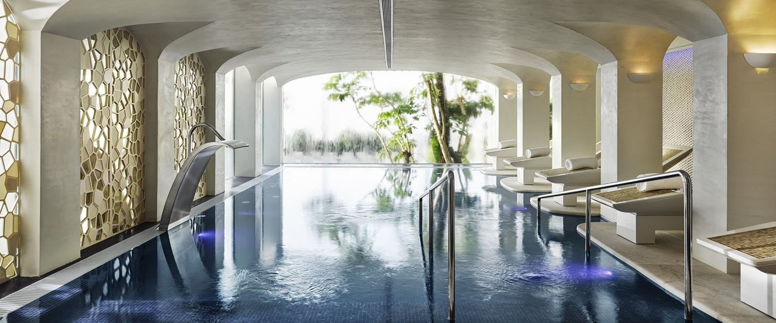 Six Senses Spa Swimming Pool at Nobu Marbella, Costa Del Sol, Spain