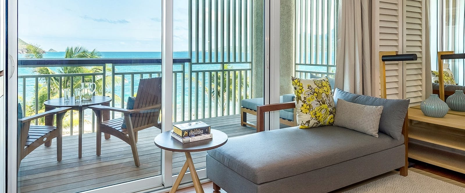 Guest Room Living Space at Park Hyatt St Kitts