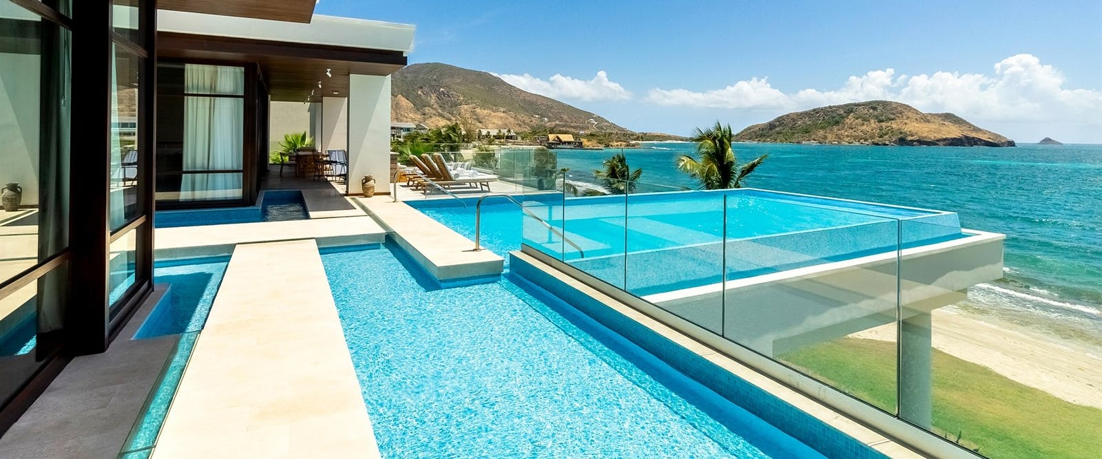 Presidential Villa Pool at Park Hyatt St Kitts