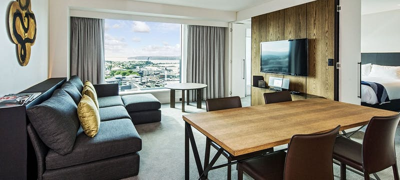 Luxury King Suite at SkyCity Grand Hotel, Auckland
