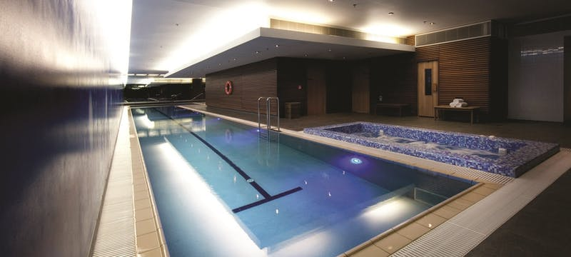 Pool area at SkyCity Grand Hotel, Auckland