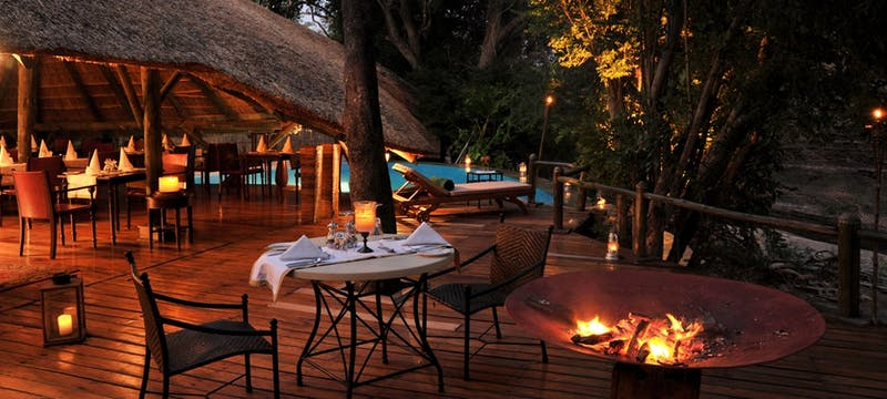 Lappa Deck at Selous Serena Camp