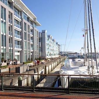 Exterior of Sofitel Auckland Viaduct Harbour, Auckland
