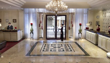 Lobby at Sofitel Legend Metropole Hanoi