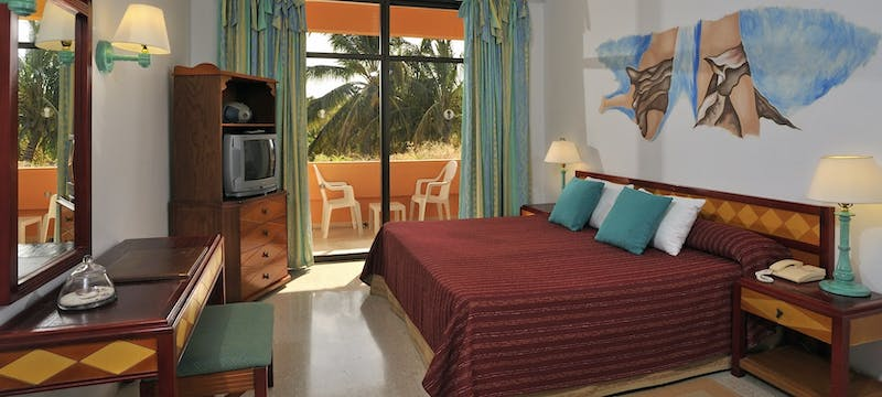 Bedroom at Sol Rio de Luna y Mares
