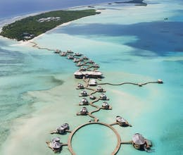 Save and spend at this magical Maldivian resort, discover its marine life in the private lagoon <place>Soneva Jani </place><fomo>238</fomo>