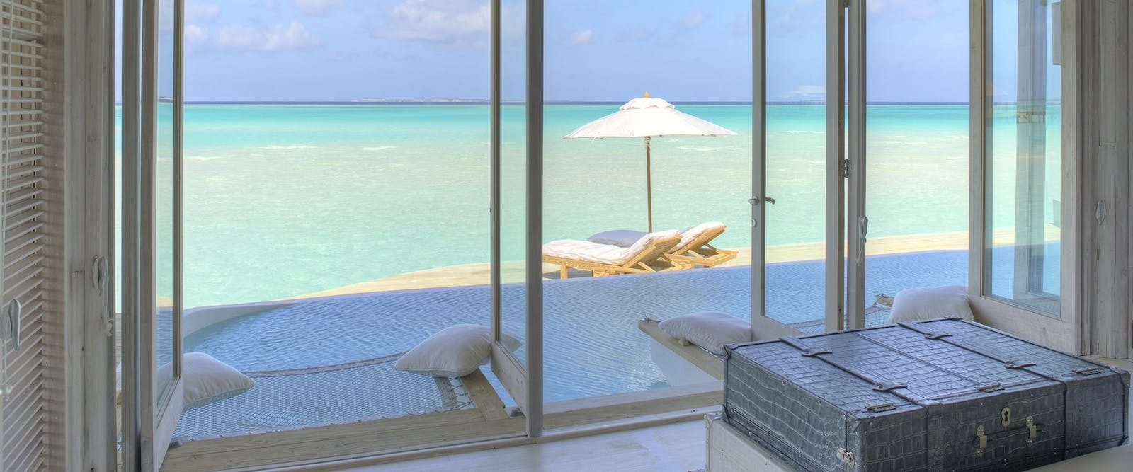 View from Bedroom at Soneva Jani, Maldives, Indian Ocean