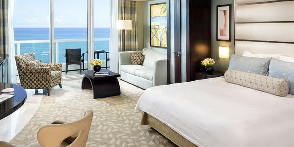 sorrento oceanfront junior suite