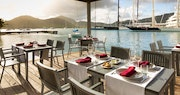 Restaurant offering cuisine with an eclectic mix of flavours at South Point, Antigua