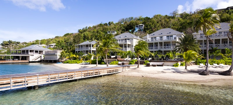 Stunning exterior view of South Point, Antigua