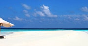 Beach at Soneva Fushi, Maldives