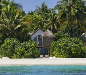 Overview of Soneva Fushi Villas, Maldives