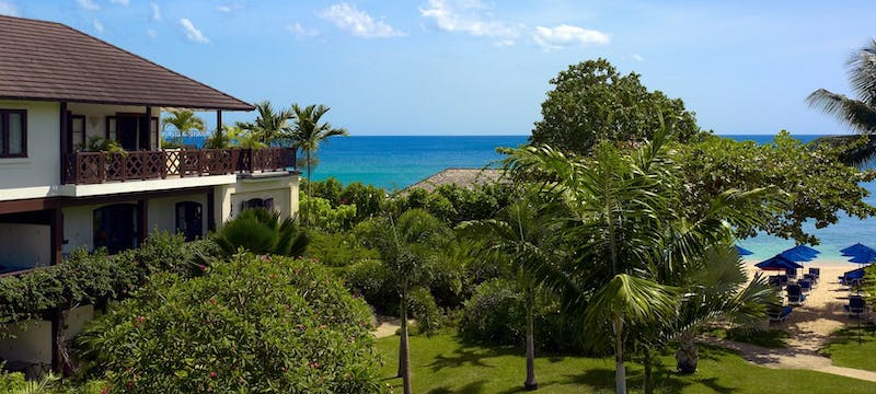 Beautiful exterior of the The Sand Piper, Barbados