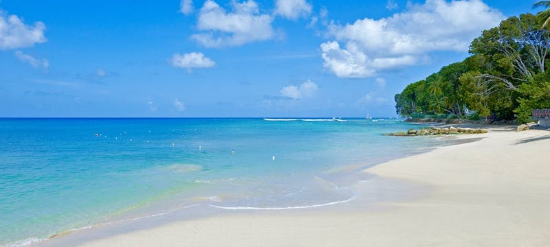 Stunning shoreline at The Sand Piper, Barbados