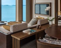 Ocean Front Villa Living Room at The Ritz Carlton Langkawi