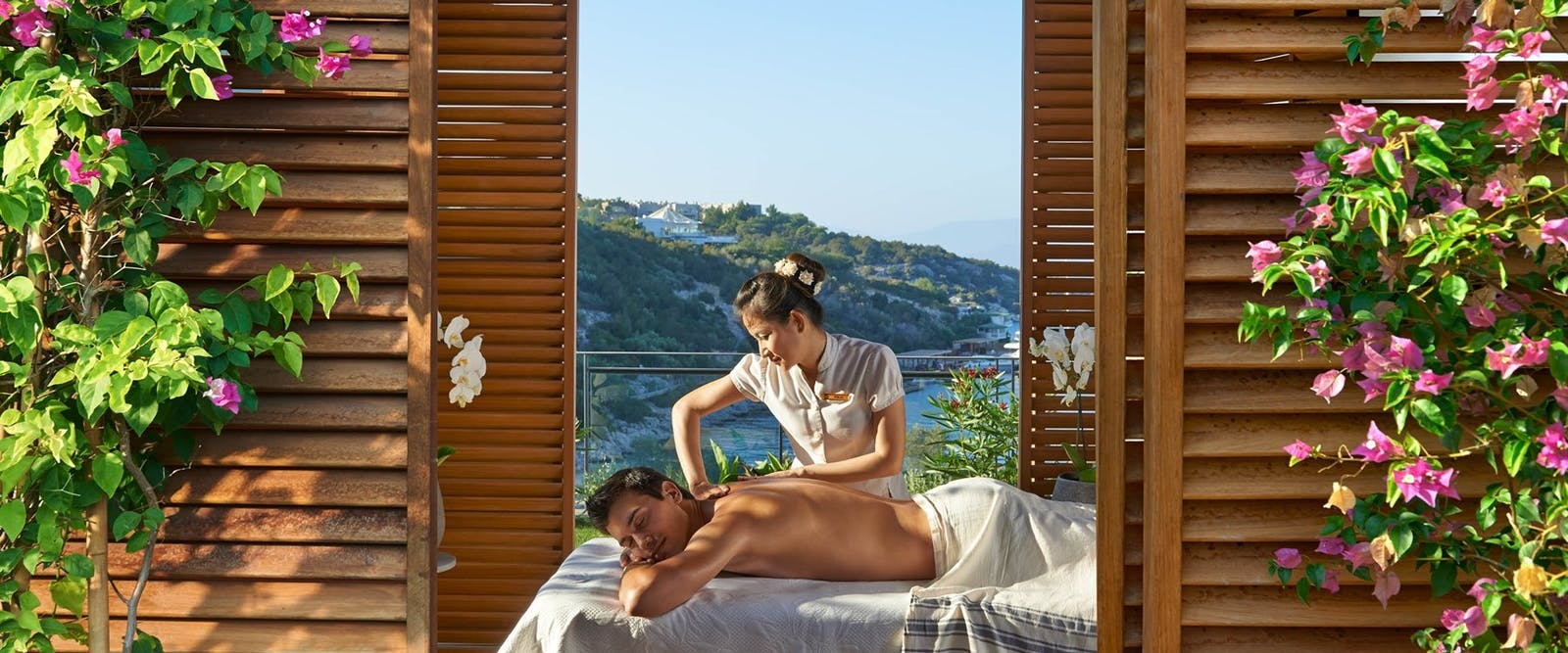 Spa Cabana at Mandarin Oriental Bodrum, Turkey