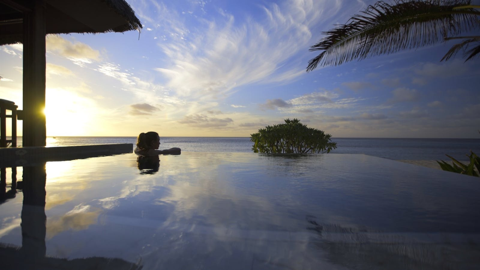 Spa Pool at Yasawa Island Resort and Spa, Fiji
