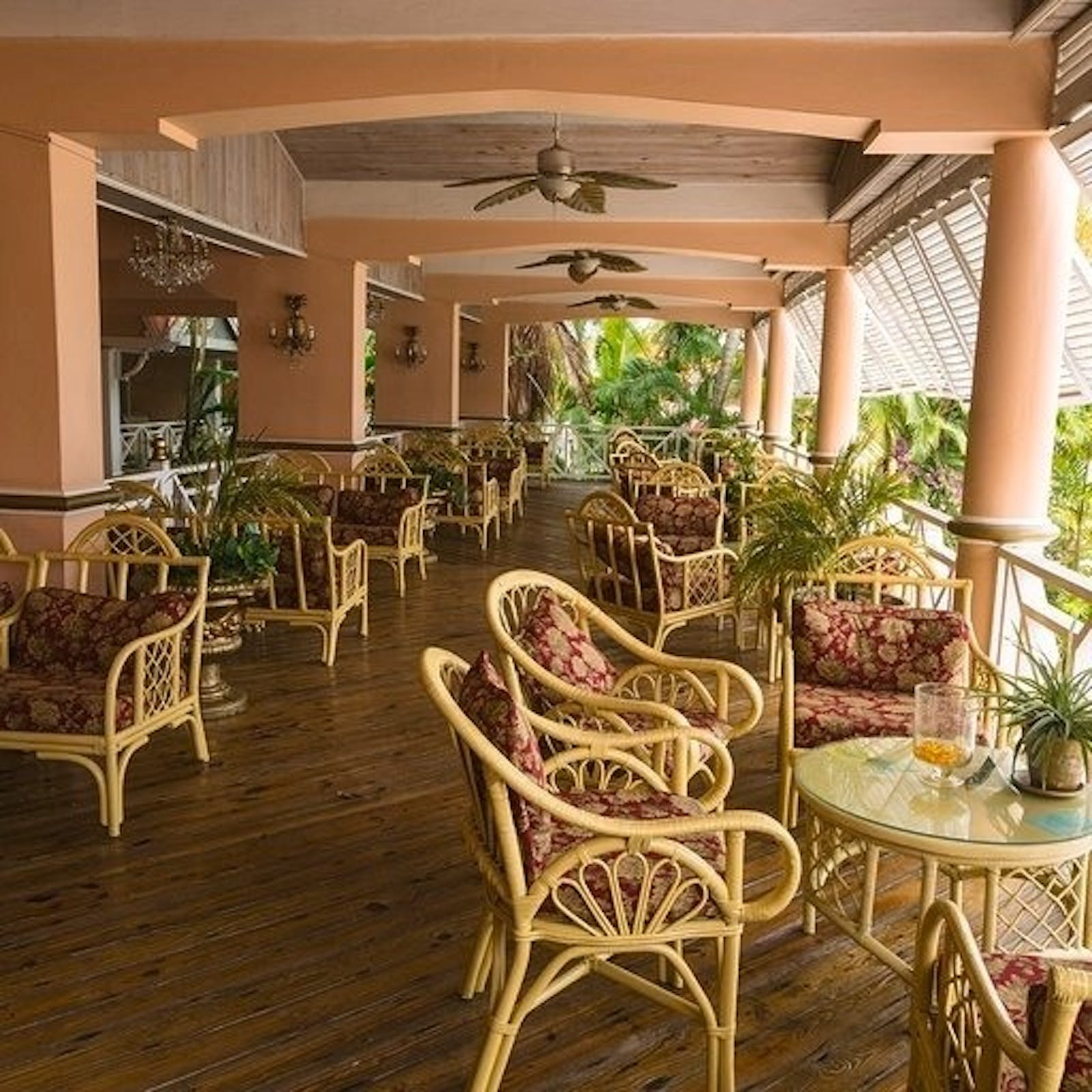 interior of coco reef resort tobago