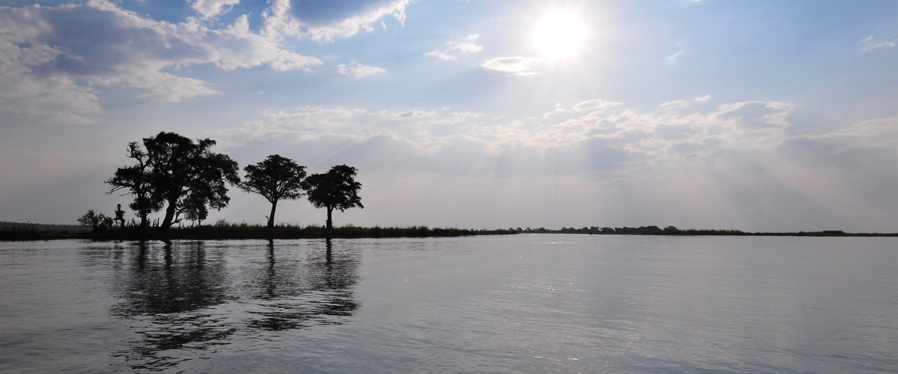 View of chobe river at Sanctuary Chobe Chilwero