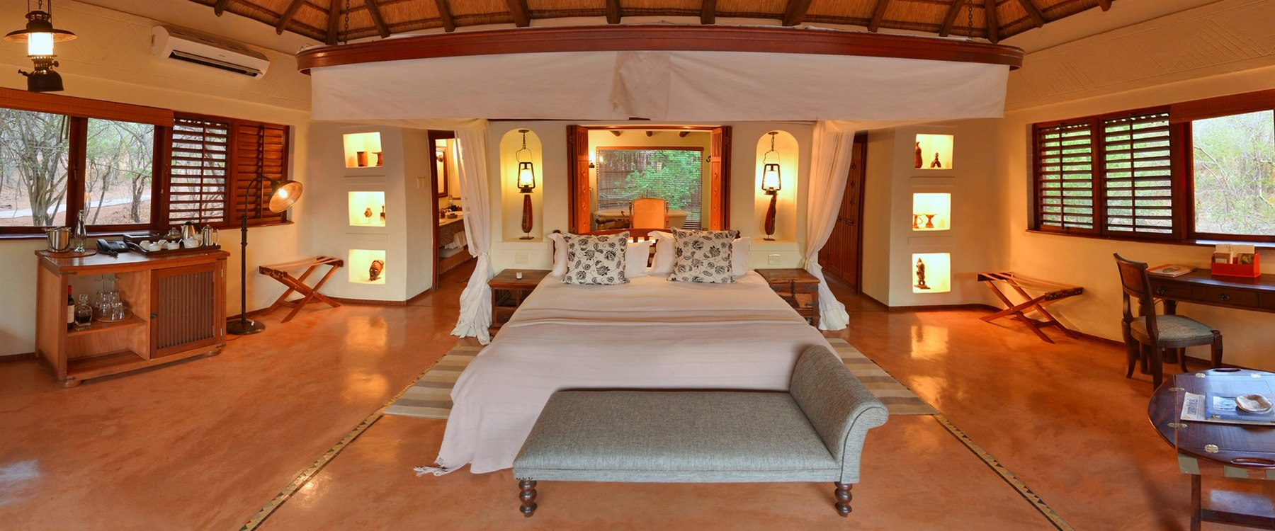 Bedroom at Sanctuary Chobe Chilwero