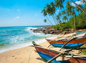 Sri Lanka Beach- a hot place to go in February