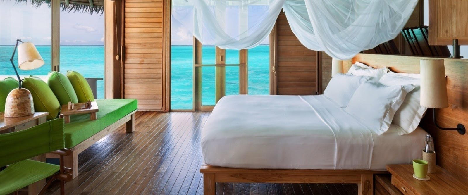 Laamu Water Villa with Pool at Six Senses Laamu, Maldives, Indian Ocean