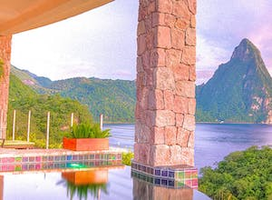 8 luxury resorts in beautiful St Lucia