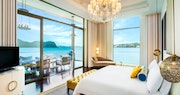 Sunset Royal Villa Master bedroom at St Regis Langkawi